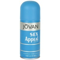 Jovan Sex Appeal Deodorant Body Spray For Men