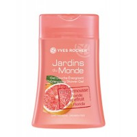 Yves Rocher Jardins Du Monde Grapefruit From Florida Energizing Shower Gel