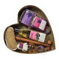 Soulflower Heart With Lavender Bath Set