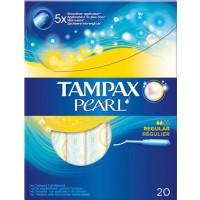 Tampax Pearl Regular Applicator Pack Of 20