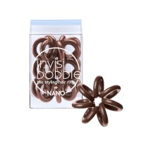 Invisibobble Nano Hair Ring - Pretzel Brown - Pack of 3
