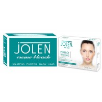 Jolen Crème Bleach + Free Perfect Whitening De-Pigmention Kit