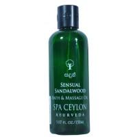 Spa Ceylon Luxury Ayurveda Sensual Sandalwood Bath & Massage Oil