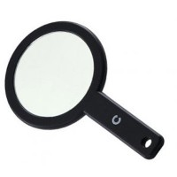 Basicare Make-Up/shaving Mirror with Handle