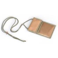 Basicare Khaki Neck Wallet