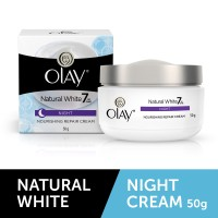 Olay Natural White All In One Night Nourishing Repair Cream 50 Gm