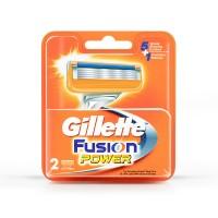 Gillette Fusion Power shaving Razor Blades (Cartridge) 2s pack