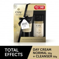 Olay Total Effects 7 In One Day Cream Normal + Free Foaming Face Wash