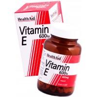 HealthAid Vitamin E 600iu - D-Alpha Tocopherol
