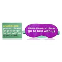 Anatomicals Silk Sleep Mask - Go To Bed