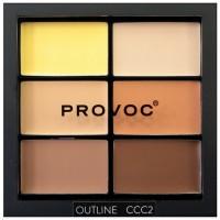 Provoc Contour Correct Conceal Palette - Outline 2