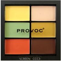 Provoc Contour Correct Conceal Palette