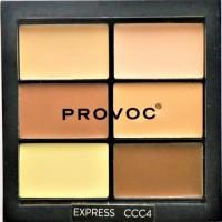 Provoc Contour Correct Conceal Palette - Express 4