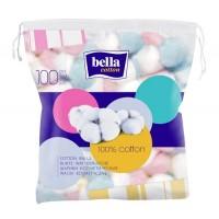 Bella Cosmetic Cotton Balls Coloured A100