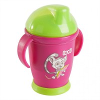 Lovi Hot And Cold Non Spill Cups Pink