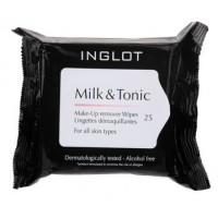 Inglot Milk & Tonic Makeup Remover Wipes