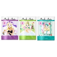 MaskerAide Take Me With You Pack of 3 Facial Sheet Masks