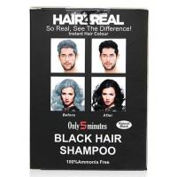 Hair4Real Natural Black Hair Shampoo(Pack of 24 Sachet)