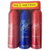 Revlon Charlie Deodorant Combo ( Buy 2 Get 1 Free )