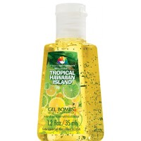 November Bloom Gel Bombs Tropical Hawaiian Island Hand Sanitizer