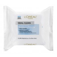 L'Oreal Paris Ideal Skin Makeup Removing Towelettes (Makeup Remover Wipes)
