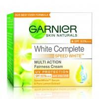 Garnier Skin Naturals White Complete Multi Action Fairness Cream SPF 19