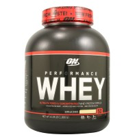 Optimum Nutrition Performance Whey Vanilla Shake - 4.19 lbs