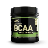 Optimum Nutrition (ON) Instantized BCAA 5000 mg Powder - 345g (Unflavored)
