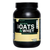 Optimum Nutrition Natural Oats and Whey Vanilla Bean - 3 lbs