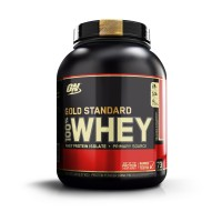 Optimum Nutrition (ON) 100% Whey Gold Standard - 5 lbs (Delicious Strawberry)
