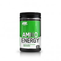 Optimum Nutrition (ON) Amino Energy Powder - 30 Servings (Lemon Lime)