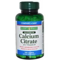 Nature's Bounty Maximum Calcium Citrate Plus Vitamin D