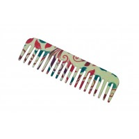 FeatherFeel Printed English Spring Shampoo Comb