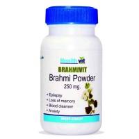 HealthVit Brahmivit Brahmi Powder 250 mg (60 Caps)