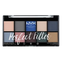 NYX Professional Makeup Perfect Filter Eyeshadow Palette - Marine Layer