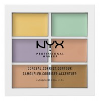 NYX Professional Makeup Conceal, Correct, Contour Palette - Color Correcting Concealer