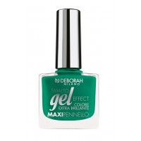 Deborah Gel Effect Nail Enamel- 50 Palm Green