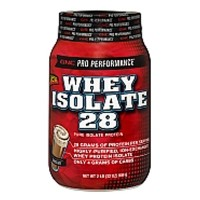 GNC Whey Isolate 28 Chocolate (2lb)