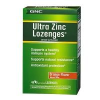 GNC Ultra Zinc Lozenges (48 Lozenges)