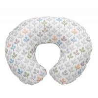 Chicco Boppy Cotton Slipcover Silverleaf