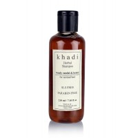 Khadi Woody Sandal and Honey Herbal Shampoo SLS and Paraben Free