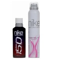 Nike 150 Sensual Touch Gift Set (EDT 150 ml + Deo 200 ml)