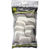 QVS 20 Make-Up Sponges Value Pack - Rectangle