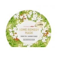 DearPacker Home Remedy Mask - Green Tea + Jasmine Flower