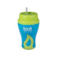 Lovi Straw Cup Green
