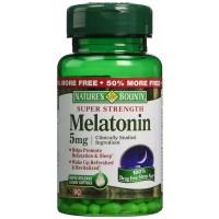 Nature's Bounty Super Strength Melatonin 5mg