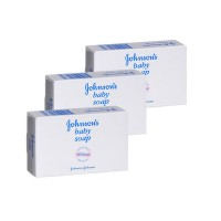 Johnson & Johnson Baby Soap Bar (Pack Of 3) (Rs. 15 off)