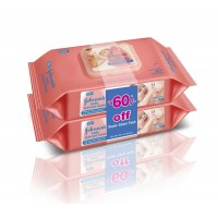 Johnson & Johnson Baby Skincare Wipes 80s Pack Of 2 Super Saver Pack (Rs 60 Off)