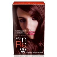 Godrej Renew Crème Hair Colour - Cinnamon Red (20 Ml)
