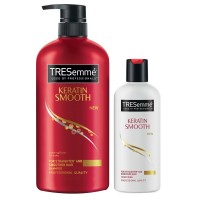 Tresemme Keratin Smooth Infusing Shampoo 580 Ml + 85 Ml Conditioner
